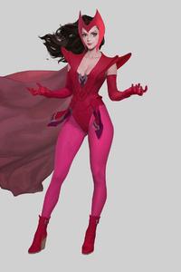 Scarlet Witch 4k 2020