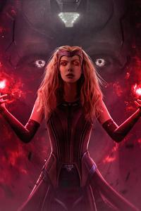 240x400 Scarlet Witch Aka Wanda Vision 4k
