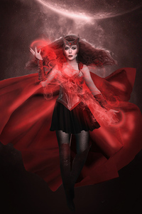 Scarlet Witch Comic X Movie 5k
