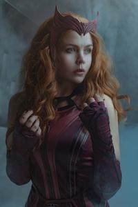 1440x2560 Scarlet Witch Cosplay 2021 4k