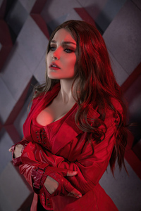 Scarlet Witch Cosplay 4k