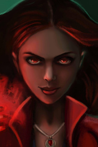 Scarlet Witch HD Art
