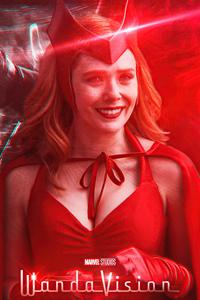 Scarlet Witch Illustrator 4k