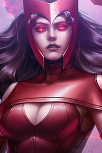 1440x2560 Scarlet Witch In Future Fight