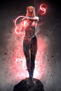 Scarlet Witch Marvel Superhero