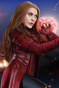 Scarlet Witch New Artwork
