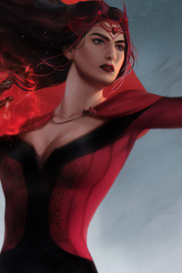 Scarlet Witch Power 4k