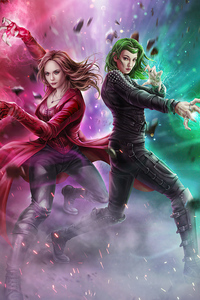 Scarlet Witch Vs Polaris