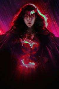 Scarlet Witch Wandavision 2020 4k