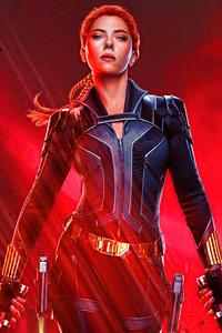 480x854 Scarlett Johansson As Melina Vostokoff In Black Widow Movie 5k