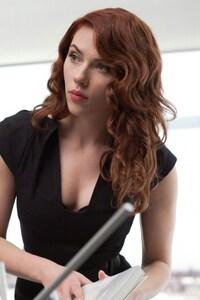 1280x2120 Scarlett Johansson Blonde