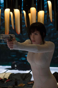 Scarlett Johansson Ghost In The Shell 2017 Movie