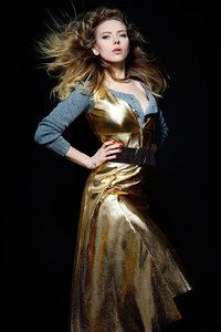 Scarlett Johansson Harper Bazar