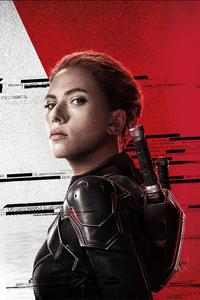 240x400 Scarlett Johansson In Black Widow Movie 5k