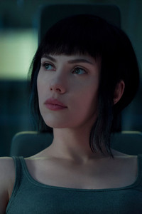 Scarlett Johansson In Ghost In The Shell 2017