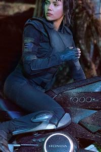 320x480 Scarlett Johansson In Ghost In The Shell 5k