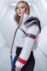 Scarlett Johansson Jacket 4k