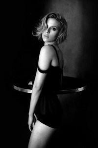 Scarlett Johansson Monochrome