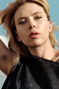 1080x2160 Scarlett Johansson The Hollywood Reporter 2019