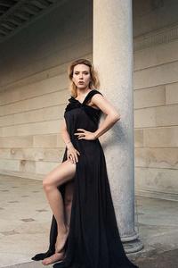Scarlett Johansson The Hollywood Reporter Photoshoot