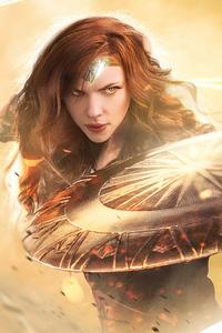 Scarlett Johansson Wonder Woman