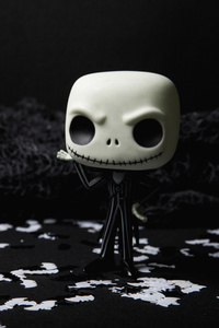 2160x3840 Scary Skull Doll Halloween Creepy 5k