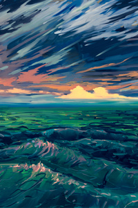 Scenery Digital Art 4k