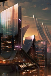 Science Fiction City Hd