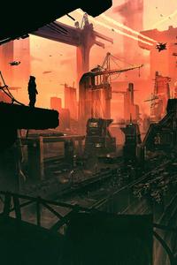 Science Fiction Concept Art 4k