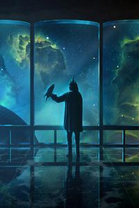 800x1280 Science Fiction Nebula Digital Universe