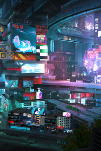 Scifi City 2076