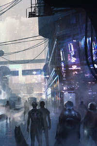 240x320 Scifi City Futuristic