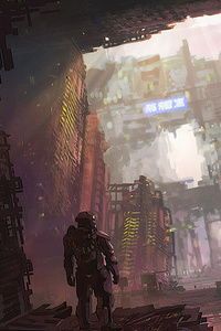 Scifi Concept Art