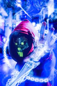 Scifi Cyberpunk Boy 4k