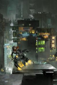 Scifi Dreamy City