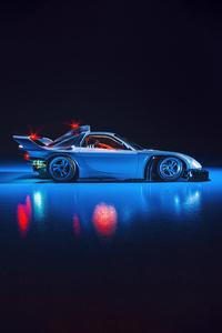 Scifi Future Car 5k
