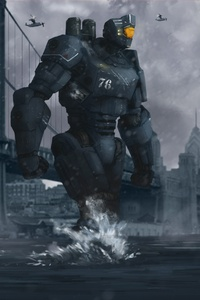 Scifi Futuristic Robot