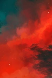 1440x2560 Scifi Nebula 8k
