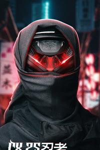 480x854 Scifi Ninja 4k