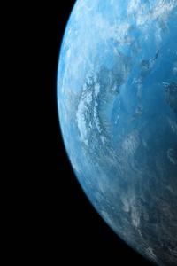 1280x2120 Scifi Planet 5k