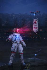 2160x3840 Scifi Robot Nurse 4k