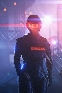Scifi Robot Police 4k