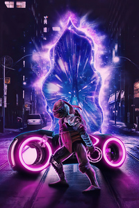 Scifi Tmnt Tron Bike 4k