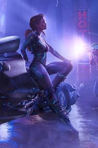 1440x2960 Scifi Women Got Busted