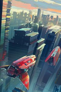 Scifi World Invasion 4k