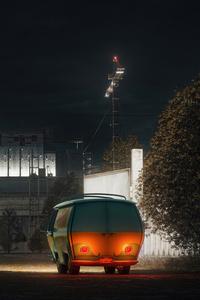1080x2160 Scooby Doo Van 8k
