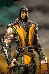 720x1280 Scorpion From Mortal Kombat 5k