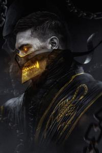 Scorpion Mortal Kombat Art