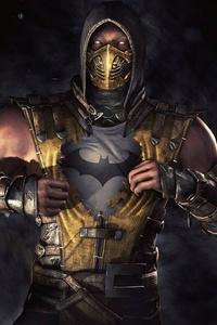 1080x1920 Scorpion Mortal Kombat Batman