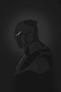240x400 Scorpion Mortal Kombat Dark Minimal 5k